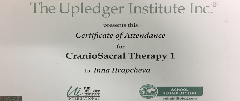 Craniosacral Therapy (Manual Therapy)