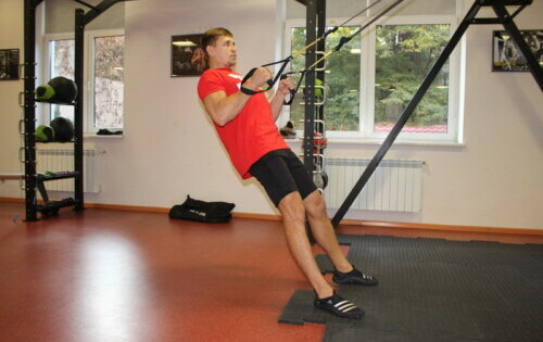 Tightening on TRX hinges